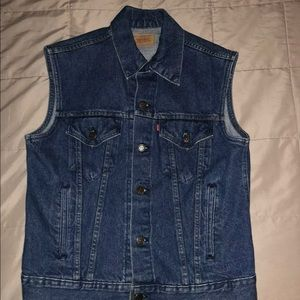 Original Levi's Denim Vest Men's Medium